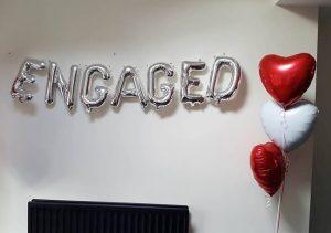 Engagement Letter Balloons