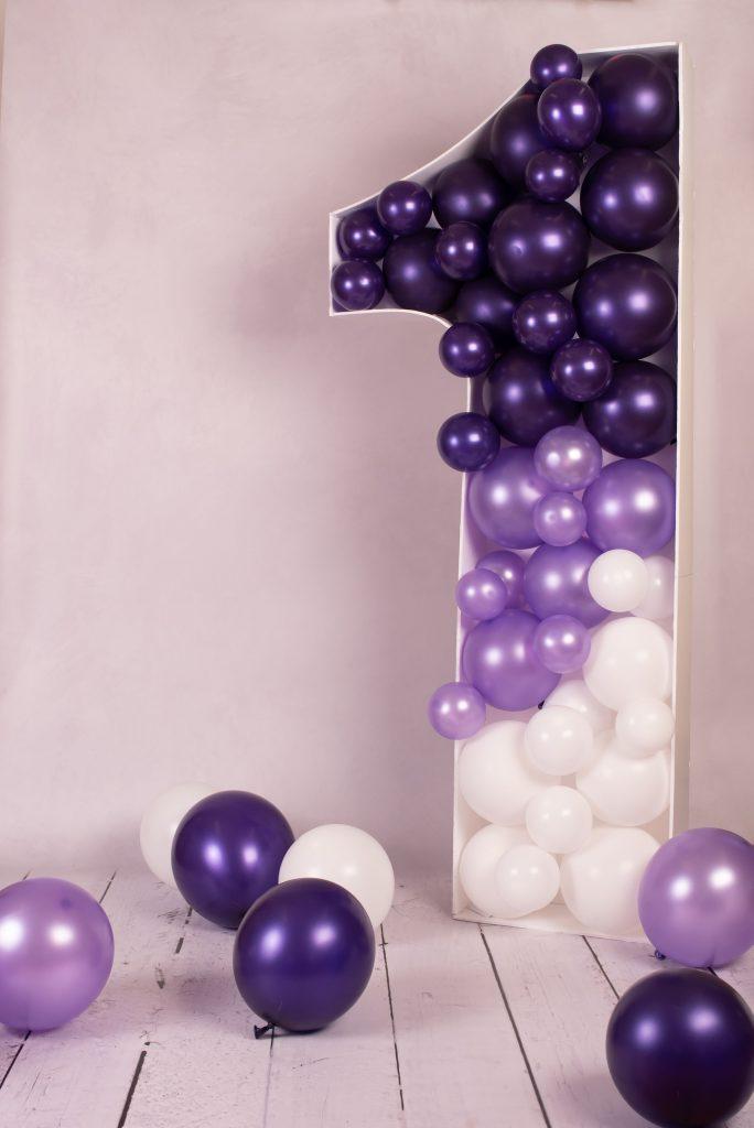 1st birthday balloons
