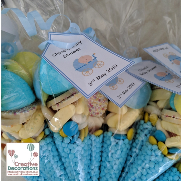 Baby Shower Sweet Cones