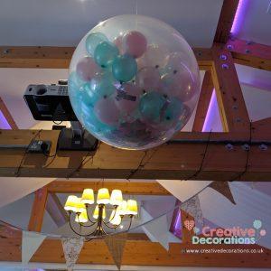 Exploding balloon