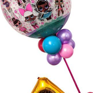 LOL Doll Balloon Display