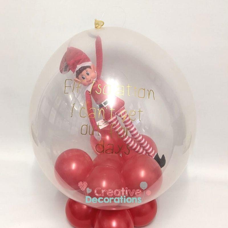 Elf in a balloon