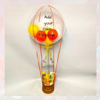 Hot air balloon display with Beauty Products